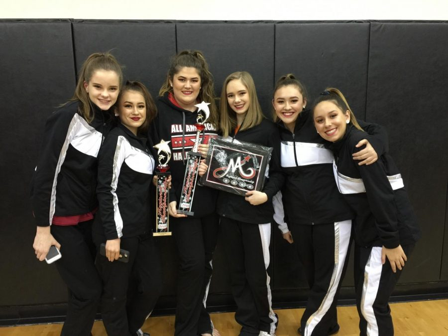 Pictured Left to Right: Grayson Keenum, Zoe Sweany, Alexa Martin, Taylor Yates, Elise Poling, Madelyn Cerja