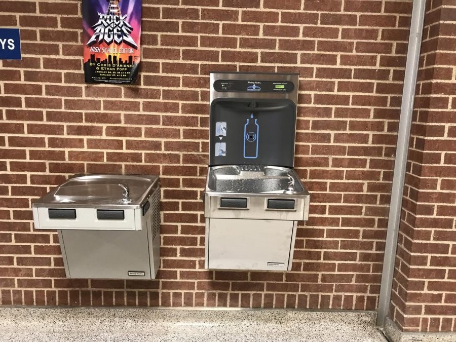 Environment Club, Student Council Succeed in Installing Water Bottle Filling Stations
