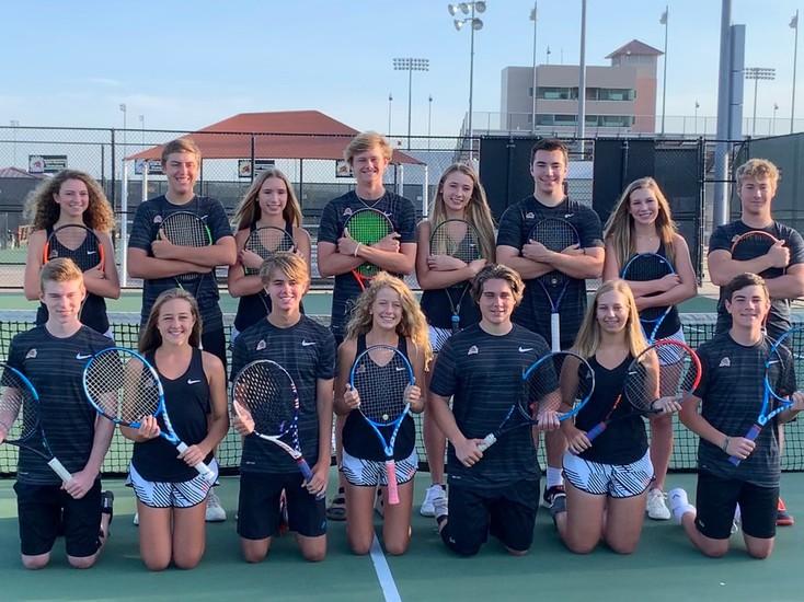 Varsity+Tennis+Team