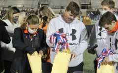 Bearcats Receive Medals For State Win