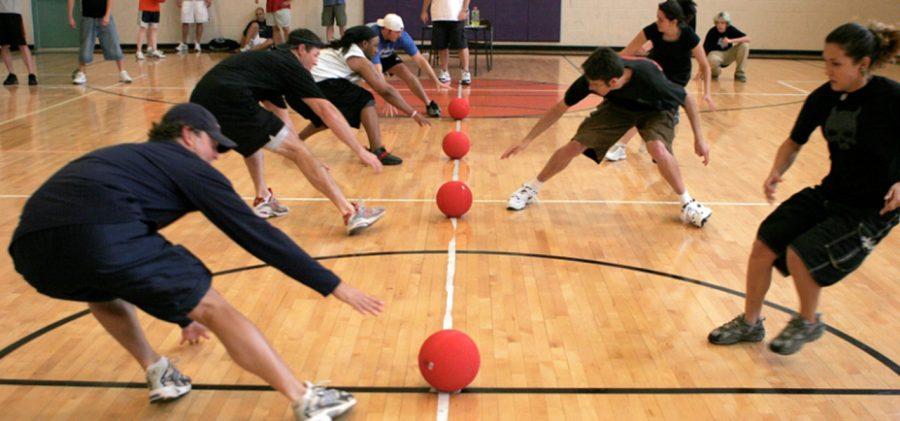 Teachers Versus Students in Dodgeball Tournament