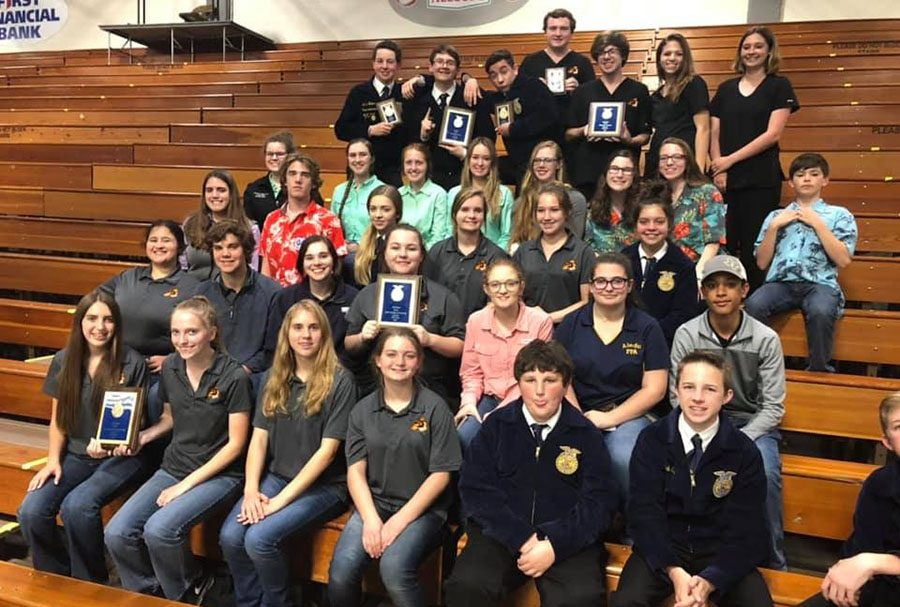 FFA Competes at Contest
