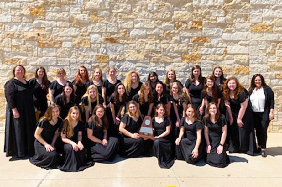 Varsity Women's Choir at UIL 2019
