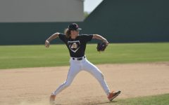 Baseball Second To Last District Game
